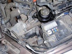 Жидкостный отопитель Вебасто на VW Amarok
