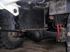 Дополнительный топливный бак на VW Amarok