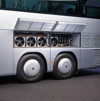 Система кондиционирования воздуха в автобусе