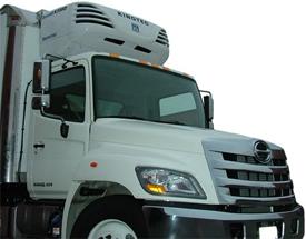 Фургон с установленным рефрижератором Kingtec K693DEH